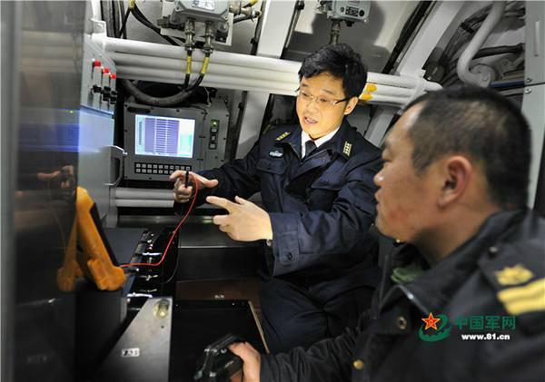 海军潜艇学院教授一项科研成果让潜艇披上隐形外衣