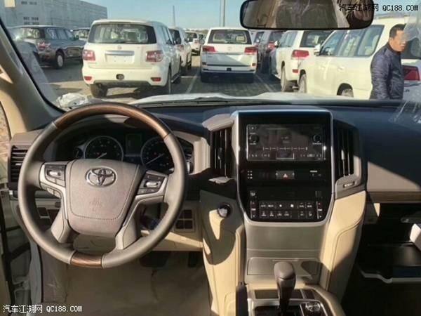 2018款平行进口丰田酷路泽4000实拍感受